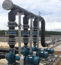 งานระบบท่อประปา และท่อแก๊สชีวภาพ PIPING HDPE STANLESS - KD INTERTECH CO., LTD